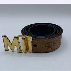 Brown MCM belt